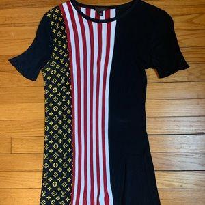 Louis Vuitton Mixed Style Sweater Stripes & Mono